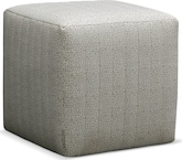 Living Room Furniture-Hadley Cube Ottoman