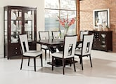 Dining Room Furniture-The Reese Paso White Collection-Reese Table