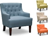 Living Room Furniture-The Marin Collection-Marin Accent Chair