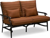 Outdoor Furniture-Gilmore Rocking Loveseat