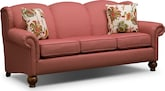 Living Room Furniture-Caroline Red Sofa
