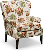 Living Room Furniture-Caroline Accent Chair