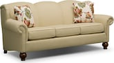 Living Room Furniture-Caroline Khaki Sofa