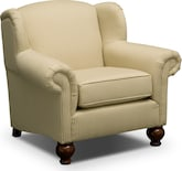 Living Room Furniture-Caroline Khaki Chair