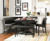 Dining Room Furniture-The Cadiente Collection-Cadiente Counter-Height Two-Seater