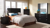 Bedroom Furniture-The Gramercy Collection-Gramercy Queen Bed