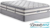 Mattresses and Bedding-Glen Ridge King Mattress/Split Foundation Set