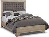 Bedroom Furniture-Highland Birch Queen Bed