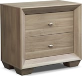Bedroom Furniture-Highland Birch Nightstand