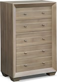 Bedroom Furniture-Highland Birch Chest
