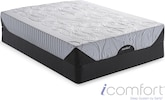 Mattresses and Bedding-The iComfort Genius EverFeel Collection-iComfort Genius EverFeel Queen Mattress/Foundation Set