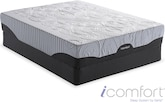 Mattresses and Bedding-The iComfort Prodigy EverFeel Collection-iComfort Prodigy EverFeel Queen Mattress/Foundation Set