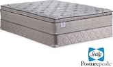 Mattresses and Bedding-The Calavia Springs Plush EPT Collection-Calavia Springs Plush EPT Queen Mattress/Foundation Set