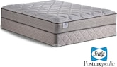Mattresses and Bedding-The Calistel Cape Collection-Calistel Cape Queen Mattress/Foundation Set