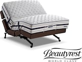 Mattresses and Bedding-The Tudor Rize Adjustable Collection-Tudor Rize Adjustable King Mattress/Split Foundation Set