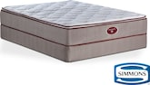 Mattresses and Bedding-Briarwood Twin Mattress/Foundation Set