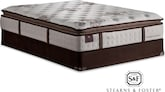 Mattresses and Bedding-The Jonna Luxury Plush EPT Collection-Jonna Luxury Plush EPT Queen Mattress/Foundation Set