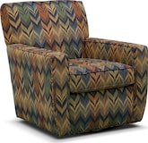 Living Room Furniture-Sierra Swivel Chair