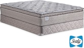 Mattresses and Bedding-Calavia Springs Plush EPT Queen Mattress/Foundation Set
