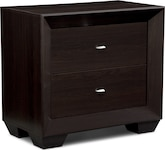 Bedroom Furniture-Highland Merlot Nightstand