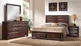 Bedroom Furniture-Scarborough 6 Pc. King Bedroom
