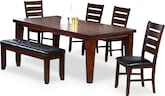 Dining Room Furniture-Weston 6 Pc. Dining Room
