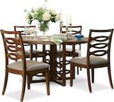 Dining Room Furniture-Bisset 5 Pc. Dining Room