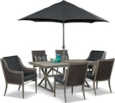 Outdoor Furniture-The Tesaro Collection-Tesaro Dining Chair