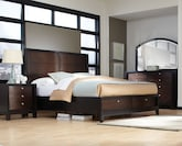 Bedroom Furniture-Olmstead 6 Pc. King Bedroom