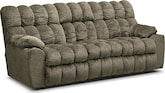 Living Room Furniture-Kipton Reclining Sofa