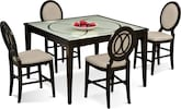 Dining Room Furniture-Stewart II 5 Pc. Counter-Height Dining Room