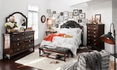 Bedroom Furniture-The Dover Collection-Dover Queen Bed