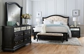 Bedroom Furniture-The Hayworth Collection-Hayworth Queen Bed