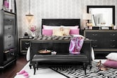 Bedroom Furniture-The Astoria Collection-Astoria Queen Bed