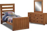 Kids Furniture-Drew 5 Pc. Twin Bedroom