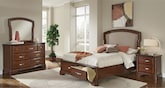 Bedroom Furniture-Hawthorne 6 Pc. Queen Storage Bedroom