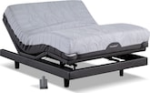 Mattresses and Bedding-iComfort Savant EverFeel CF Motion Signature Adj King Mattress/Split Foundation Set