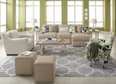 Living Room Furniture-The Nantucket Floral Collection-Nantucket Floral 2 Pc. Sectional