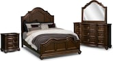 Ashworth 6 Pc. King Bedroom