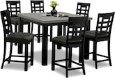 Dining Room Furniture-The Wynn II Collection-Wynn II 5 Pc. Counter-Height Dinette