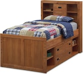 Kids Furniture-Drew Captain Twin Bed