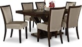 Dining Room Furniture-Tempest Tango II 7 Pc. Dining Room