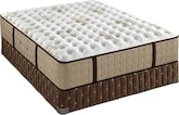 Mattresses and Bedding-Bridgetown Luxury Cushion Firm Queen Mattress/Split Foundation Set