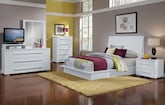 Dimora White 7 Pc. Queen Bedroom
