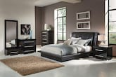 Dimora Black 7 Pc. King Bedroom (Alternate)