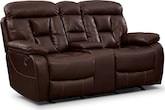 Dakota Glider Reclining Loveseat w/ Console