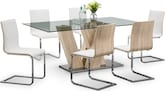 Dining Room Furniture-Hartley Birch 7 Pc. Dining Room