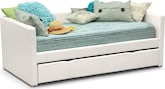 Kids Furniture-Darby Twin Daybed with Trundle