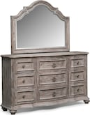 Bedroom Furniture-Winslow II Dresser & Mirror