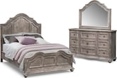 Bedroom Furniture-Winslow II 5 Pc. Queen Bedroom